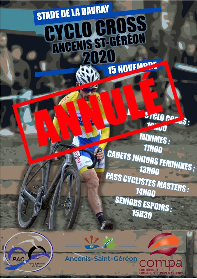 CYCLO-CROSS ANCENIS-ST GEREON